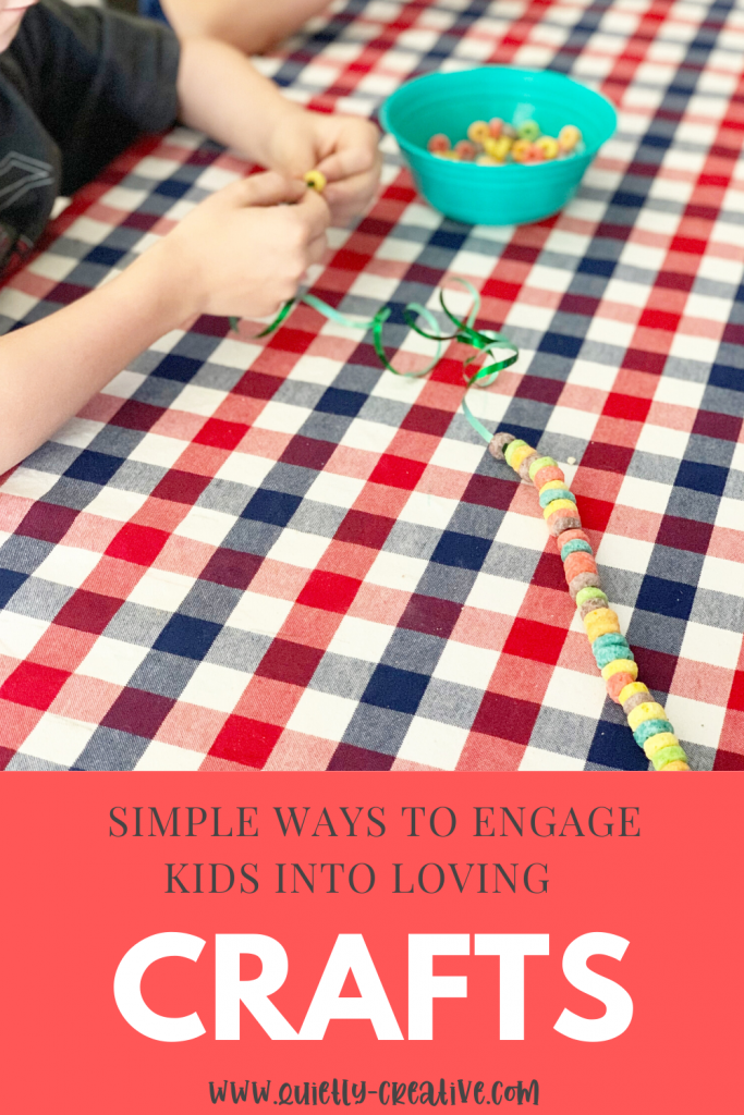 Engaging Children In Arts & Crafts Pinterest Image