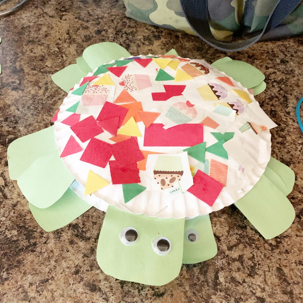Paper Plate Turtle Crafts
