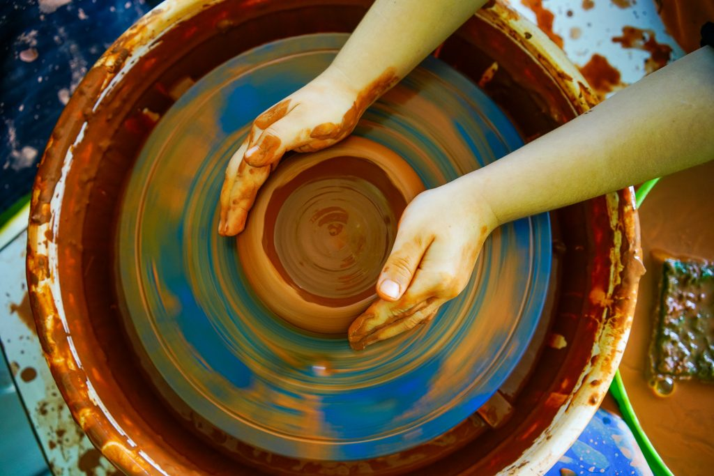 Clay Pottery Crafting